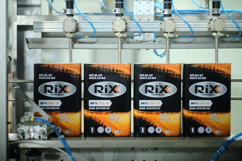 Производство RIXX
